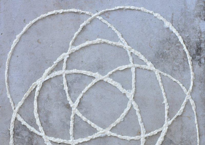 mushroom paper circles