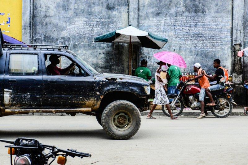 Mananara Madagaskar Wahlplakat Mauer