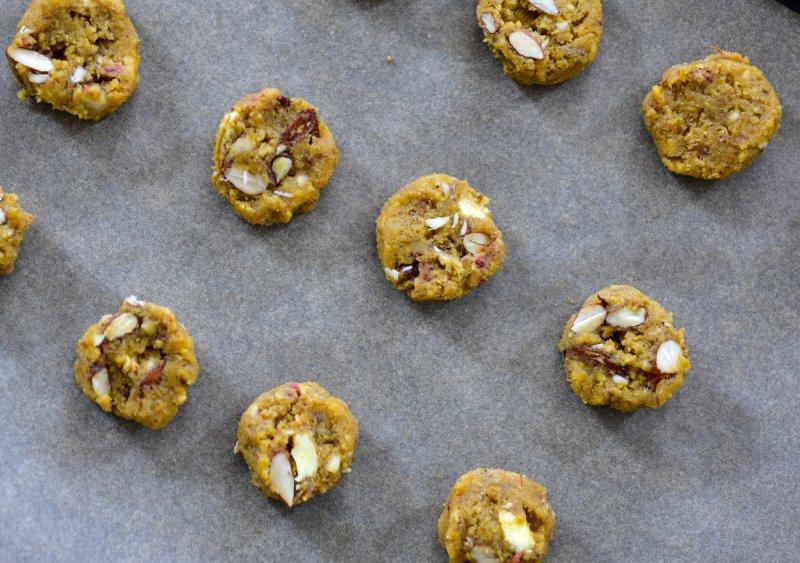 Altbrot Cookies Teig