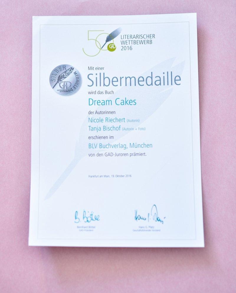 Silbermedaille Cake Dream
